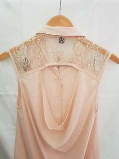 Forever 21 peach shirt size S