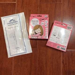 SunMum breastmilk storage bags
