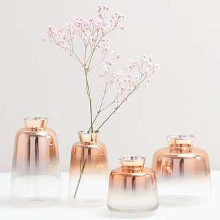 PREORDER Beautiful Rose Gold Gradient Ombré Minimalistic Vase
