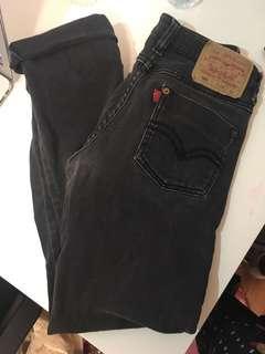 Levi's 501 Black Jeans