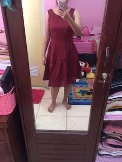 Dress kondangan zara breshka
