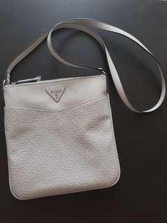 Guess Faux Leather Sling Bag