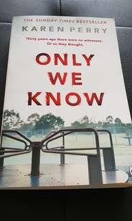 Book : Karen Perry (Only we know)