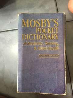 Mosby's Medical Dictionary (4th edition)