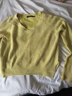 Sportsgirl jumper yellow