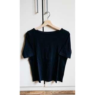 UNIQLO - Woman T-shirt - Navy Blue