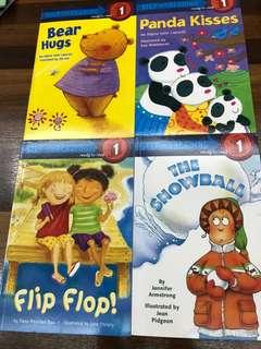 BN- Step into reading level 1 set of 4
