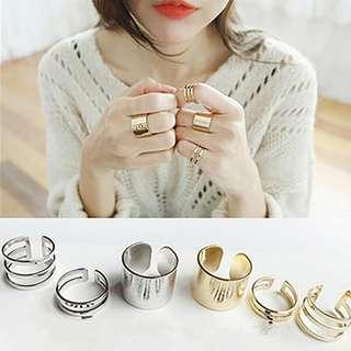 Trio Ring Set (3pcs/set)