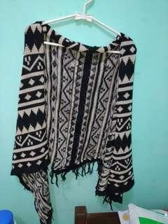 Outwear Sweater corak etnik