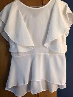 Cute white top