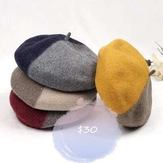 Wool hat 畫家帽