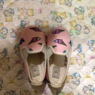 Flossy Shoes (ice cream printing)
