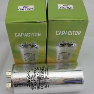CAPACITOR 55UF / Freezer / Air Cond / Refrigerator / Air Compressor / Pumps