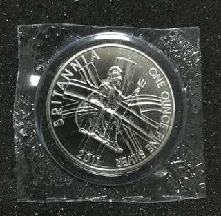 2011 Great Britain 1 oz Silver Britannia BU (Original packaging)