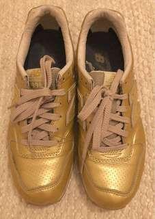 REPRICED Metallic Gold Walking Shoes