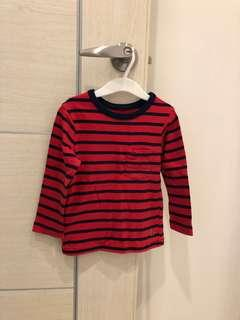 🚚 Gap小童純棉長袖T恤