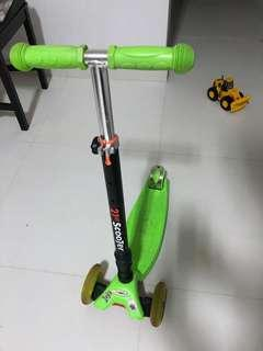 Kids Scooter (max weight 60kg)