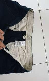 Timberland cotton pants size 40 navy colour