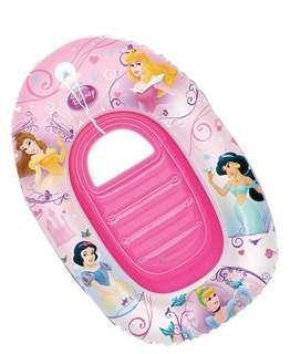 Inflatable disney princess boat