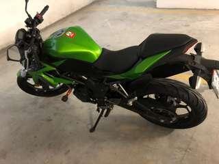 Kawasaki Z250SL (Price Negotiable)