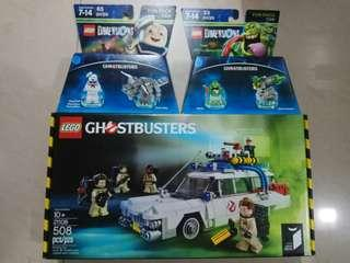 Lego 21108 捉鬼敢死隊 ghost busters 連 棉花糖鬼 口水鬼