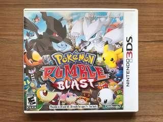 🚚 Pokémon Rumble Blast for 3DS