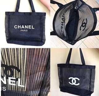 Chanel Gift Transparan Bag Authentic