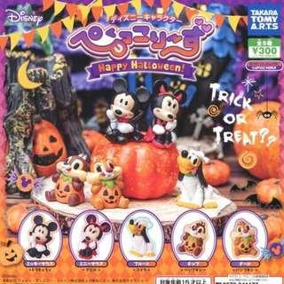 <全新> T-ARTS Disney 迪士尼 Happy Halloween 扭蛋(米妮)