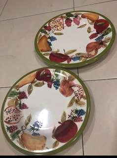 Flower plates (size L and M)