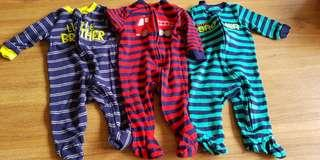 Carters zip sleepsuit 0-3mths