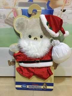 Unibearsity 大學熊聖誕裝S size公仔衫