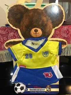 Disney Unibearsity 大學熊足球 S size 公仔衫