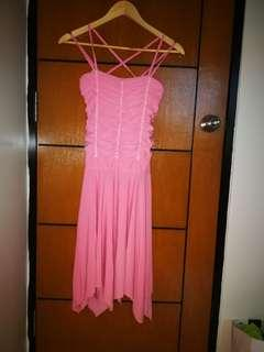 Chiffon Light Pink Dress