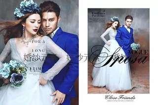 Prom dress grey gown bridal wear long sleeve