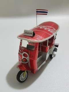 Tok tok car make by coca cola tin