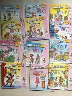 I can read phonics (Fancy Nancy ) 12 books