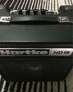 HARTKE Amplifier for Bass Guitar 15 watt