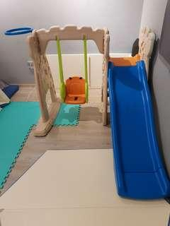 Grow n Up slide and swing