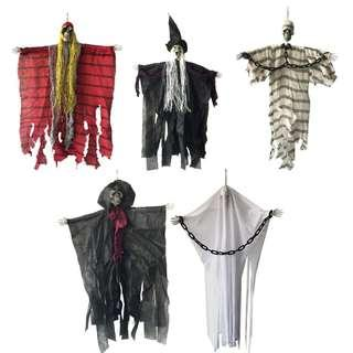 🚚 Halloween Hanging Pirate Witch Prisoner Reaper Ghost #Haunted House #Escape #Horror #Decorations