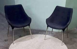 Used Fabric Chair 2 pcs Free Delivery