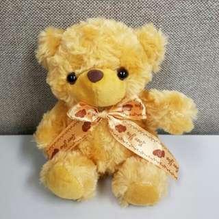 🔁可交換🔁心心絲帶小熊