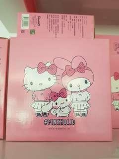 Hello Kitty耐熱玻璃保鮮盒湯匙組
