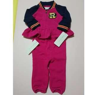 全新Polo Ralph Lauren BB 長袖外套連褲套裝