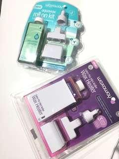 Waxaway Aquawax Roll On Kit + Salon Pro Mini Roller Wax Heater
