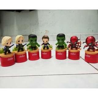 Tesco Avengers Stampers (Swap or Sell)