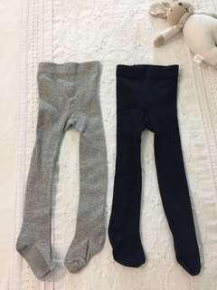 H&M winter leggings 6-12mths