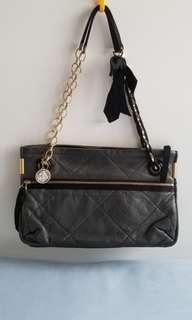 Lanvin Amilia grey shoulder / cross body bag 灰色軟羊仔皮手袋