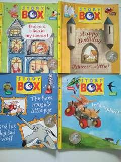 PENDING. 4@$6! Children StoryBox Magazines