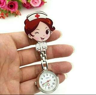pocket watch/ nurse pocket watch
