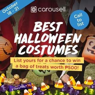 Halloween Giveaway: List & Win a Bag of Treats 🎃🍫